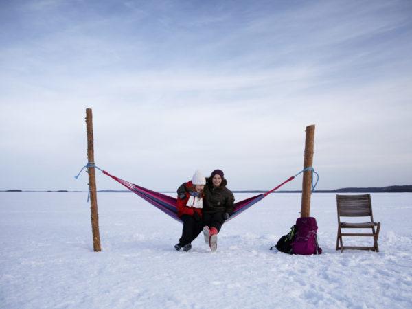 vk-Riippumatto-Pielisen-jäällä