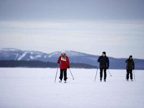 vk-hiihtäjät-pielisellä-talvi