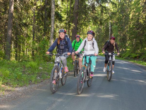 pyöräily-pohjois-karjala